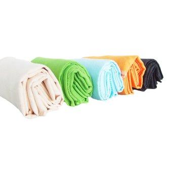 Portable Tri-fold Soft Golf Towel 40*65CM Black(Export) - 5