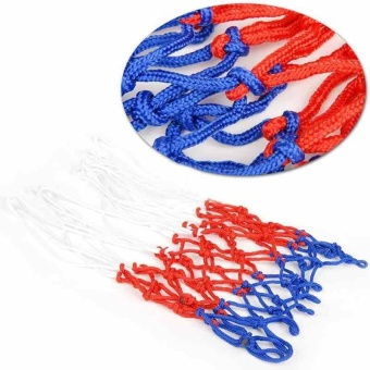 Three Color Standard Nylon Thread Basketball Rim Mesh Net OutdoorDurable - intl