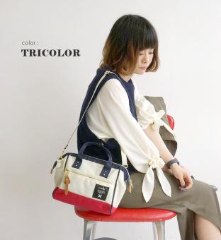 100% authentic ANELLO original Japan 2 way boston bag shoulder bagJapan Bestselling (MINI, MIX-F) - 5