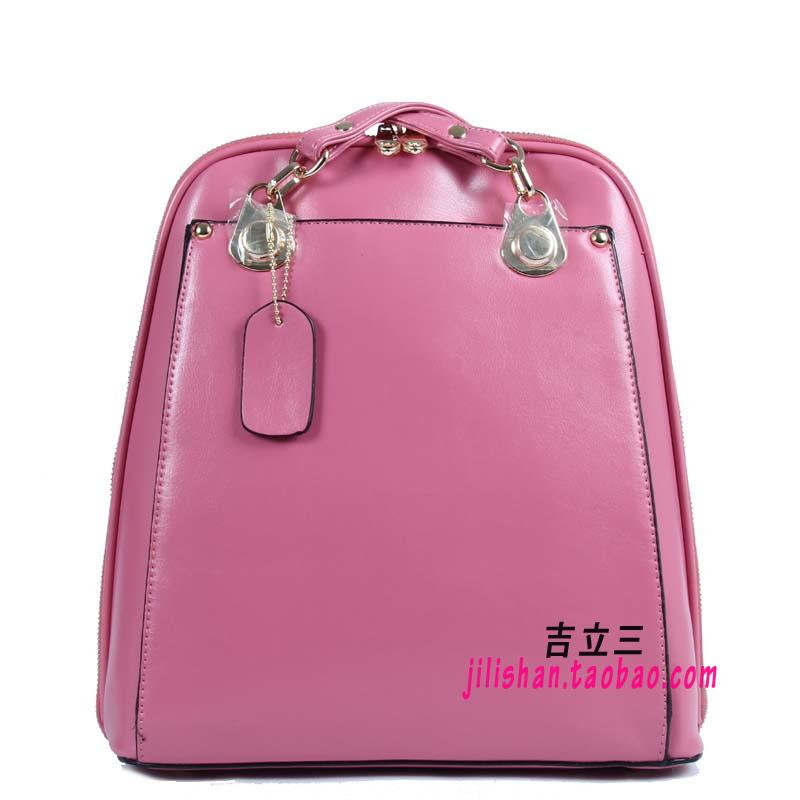 2017 new backpack?????????KT165-335 ethnic handbags single shouldermessenger BAG (Peach pink)