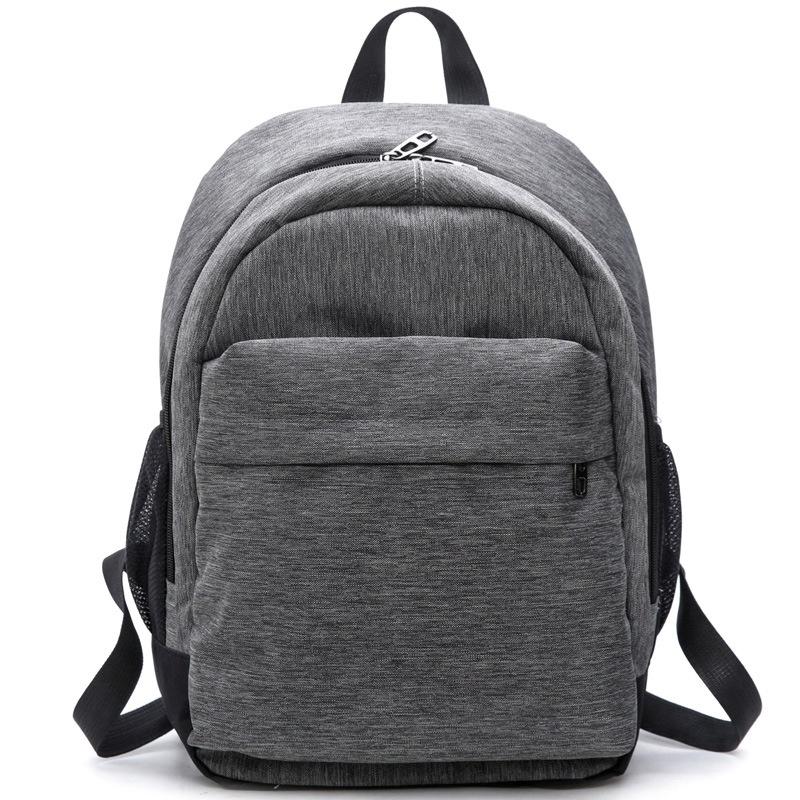 2017 Women Waterproof Canvas Backpacks Ladies Shoulder Bag Rucksack School Bags For Girls Travel Gray Blue