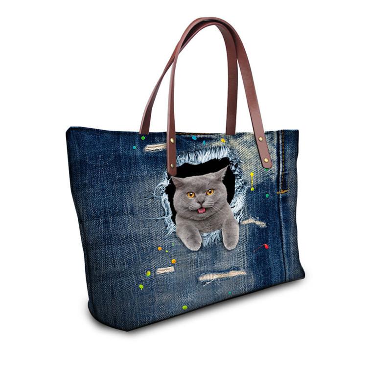 3D bag female handbag shoulder cup (14)