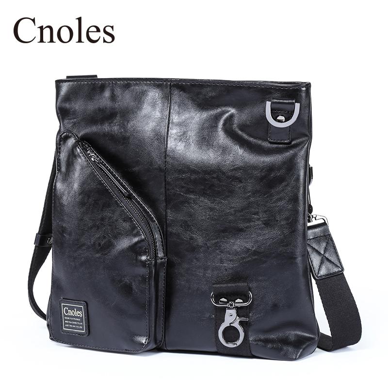 A shoulder verticle men's bag small bag