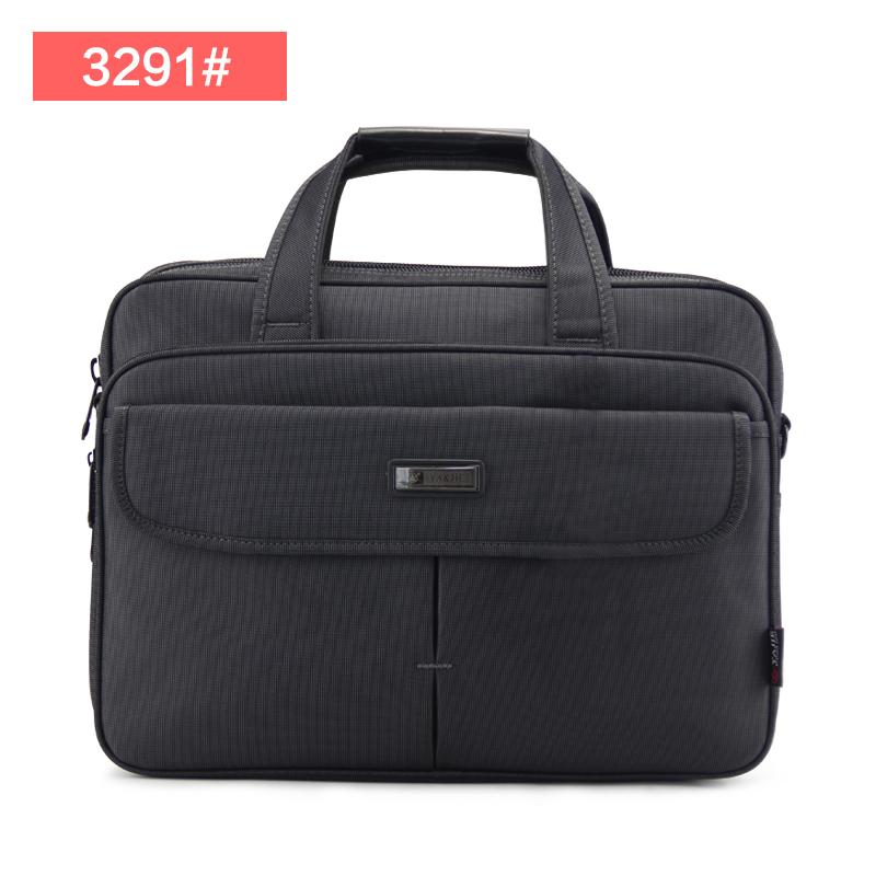 A4 cross shoulder portable canvas computer bag casual men's bag (3291 # dark gray) (3291 # dark gray)
