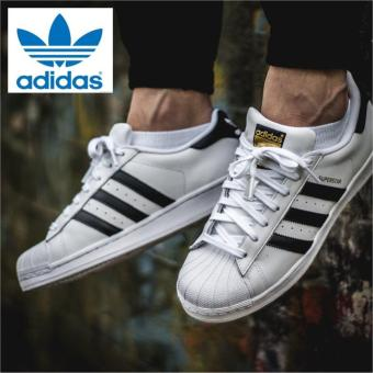Harga Adidas Originals SuperStar C77124 Unisex Classic Shoes Express -intl
