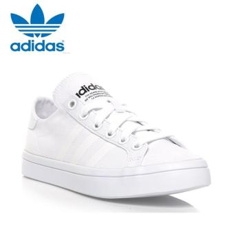 Harga Adidas S78767 Men Originals Court vantage Casual shoes White/White- intl