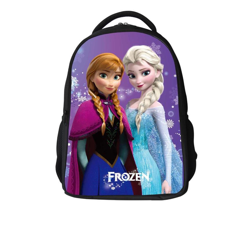 Aisha Princess Pink young student's girl's backpack school bag (005)