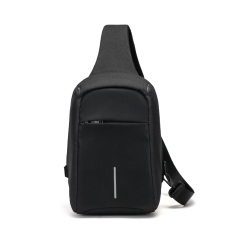 f97f258fddf4 Anti-theft chest pack men's Korean version of the daily influx shoulder bag  men casual fashion messenger man bag sports small backpack canvas bag ...