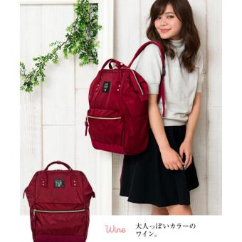 Authentic anello (Nylon Series)Backpack Japan Hot-selling (Wine color, large size)   authentic anello (nylon series)backpack japan hot-selling (wine color, large size) Authentic anello (Nylon Series)Backpack Japan Hot-selling (Wine color, large size) authentic anello nylon seriesbackpack japan hot selling winecolor large size 1486614827 51305321 13c542a86f4d4793fa858d3dc2b6562d product 340x340