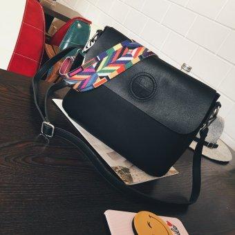 bag koreanstyle bao fangbao autumn new style fashion big bag female bag casual color strap
