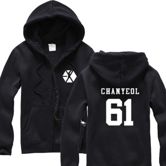 Exo autumn New style play should aid hooded jacket