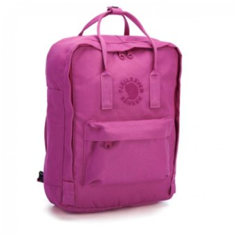 Fjallraven Kanken Re-Kanken Classic Backpack - Pink Rose - 2