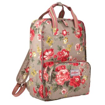 "Harga Cath Kidston Backpack Rucksack Winter Rose Oat 15AW Fitting 13"" Laptop - Intl"