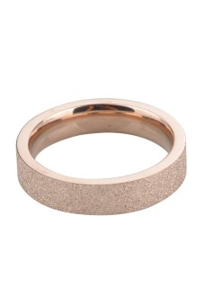 Harga Rose Gold Stainless Sl Ring Band Finger Women Jewelry Rose Gold