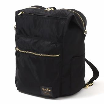 Harga Legato Largo x anello 3 way backpack multifunction Nylon bag - BLACK