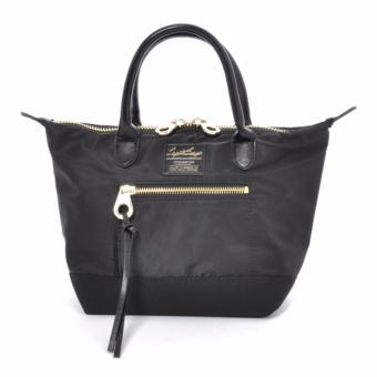 Harga Anello x Legato Largo 2-Way Tote Bag (Small size, Black) with sling strap crossbody bag shoulder bag