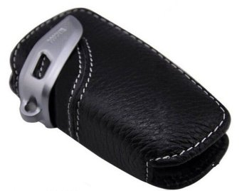 Harga Remote key bag, genuine Leather Key Case for BMW 1 3 5 series F30 F35 X3 7 in Black