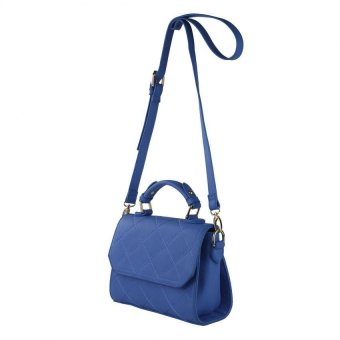 Harga Mel accessories Quilted Petite Satchel Bag - Blue