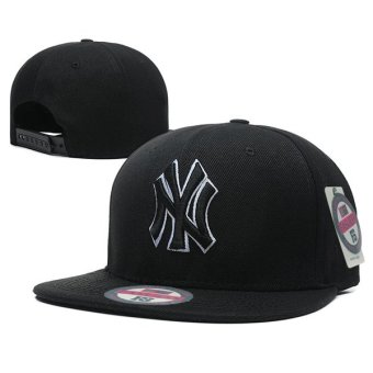 Harga New Fashion Euro Logo New York Yankee Snapback 9Fifty Baseball Cap Male Hip-Hat