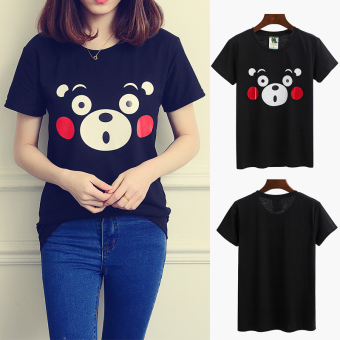 Chic cartoon style Top