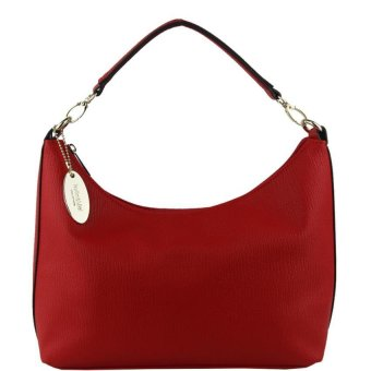Harga Perllini and Mel Leatherette Medium Hobo Bag (Red)
