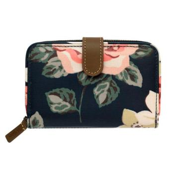 Harga Cath Kidston folded zip wallet coins wallet card holder (Richmond rose Dark Navy)