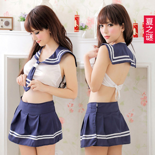 Harga Summer women's sexy sleepwear nightgown costumes photo service photography service pure and lovely suit temptation lure students