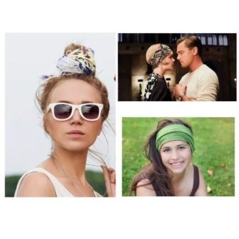 Man Women Magic Scarf Headbands Seamless Bandanna Wrap Face Mask + UV Protectioin Arm Cooling Sleeve For Outdoor Running Cycling 112505 - 4
