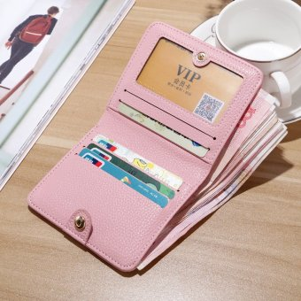 Harga Women's folding short small wallet