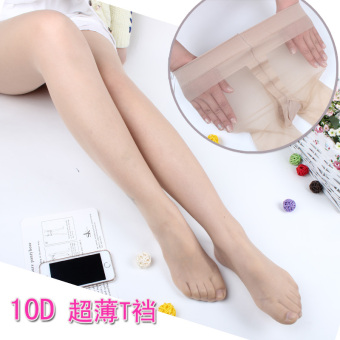 10d sexy seamless invisible anti-silk pantyhose socks