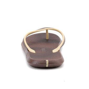 ZOQI Men's Fashion Flip Flops(Khaki) - intl - 3