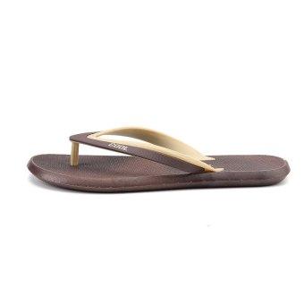 ZOQI Men's Fashion Flip Flops(Khaki) - intl - 4