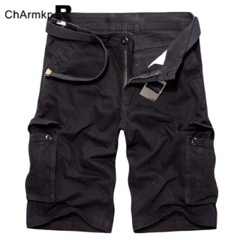 Harga High Quality Fashion Mens New Sports Shorts Casual Printed Knee Length Gym Pockets Shorts Plus Size Charmkpr Mens Cargo Shorts - intl