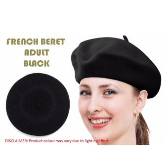 Harga French Beret Adults (Black)