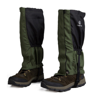 Harga Outdoor Windproof Hiking Skiing Gaiters(Army Green) (Intl)