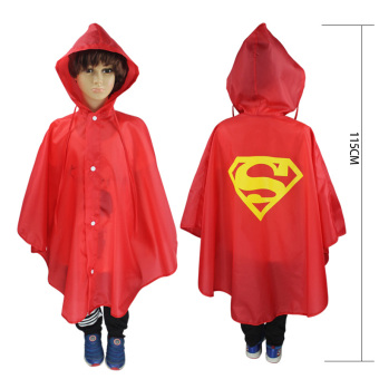 Harga Children Raincoat Role-playing Cloak-Red