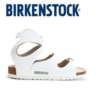 Classic Birkenstock Womens Birkenstock Athen White Birko-Flor® 032153 - intl - 4