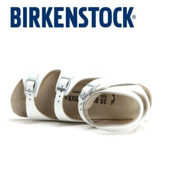 Classic Birkenstock Womens Birkenstock Athen White Birko-Flor® 032153 - intl - 3
