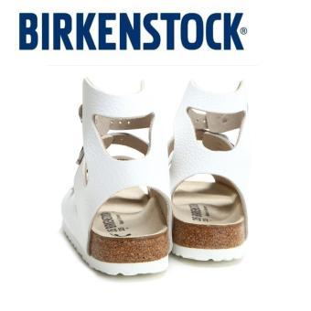 Classic Birkenstock Womens Birkenstock Athen White Birko-Flor® 032153 - intl - 5