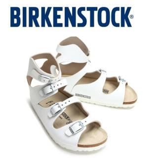 Classic Birkenstock Womens Birkenstock Athen White Birko-Flor® 032153 - intl - 2