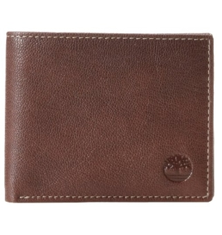 Harga Timberland Men's Blix Leather Wallet, Brown