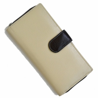 Harga WALLET DANIELA MODA BEST SELLER ITALY LEATHER WALLETS, UNIQUE NICE DESIGN THE BEST WOMEN FASHION BEIGE