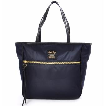 Harga [Anello x Legato Largo] 10 pockets 2 way nylon shoulder bag with sling strap (Large size,Navy)