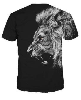 XWD Custom Design Men's Milk silk fabric T-Shirt - intl - 3