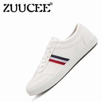 ZUUCEE Men's Fashion Flat-bottomed Round Head Shoes Sports Shoes - 3