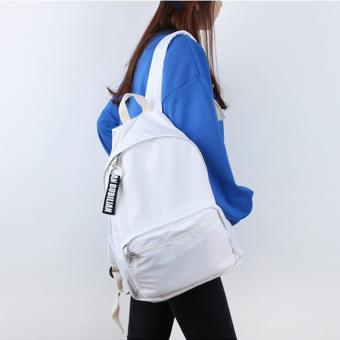 Bubilian BTBB Unisex Korean Basic Backpack (White) - Intl - 3