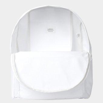 Bubilian BTBB Unisex Korean Basic Backpack (White) - Intl - 5