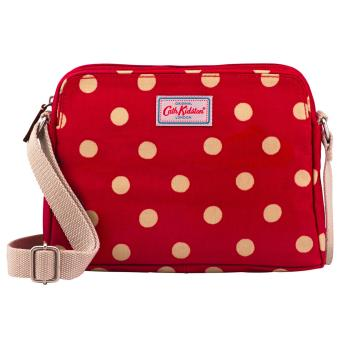 Harga Cath Kidston Mini Busy Bag Cross body bag sling bag (Button spot red)