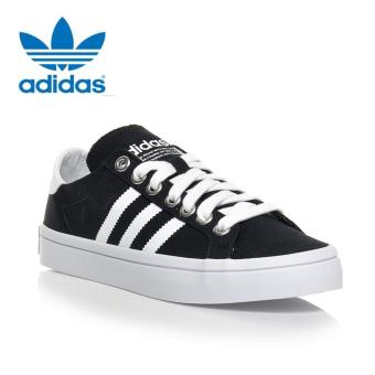 Harga Adidas S79302 Unisex Originals Court vantage Casual shoes Black White - intl