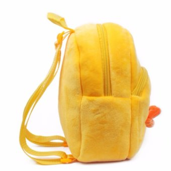 Yellow duck cute baby backpack bag lovely children year younger children age 2 small bag early learning more - intl - 3